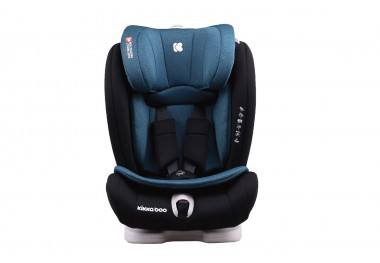 Столче за кола 1-2-3 (9-36кг) Viaggio ISOFIX Light Green 2020 - Kikkaboo